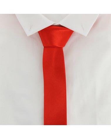 Cravate Slim Rouge