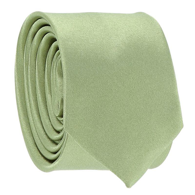 Cravate Slim Vert amande