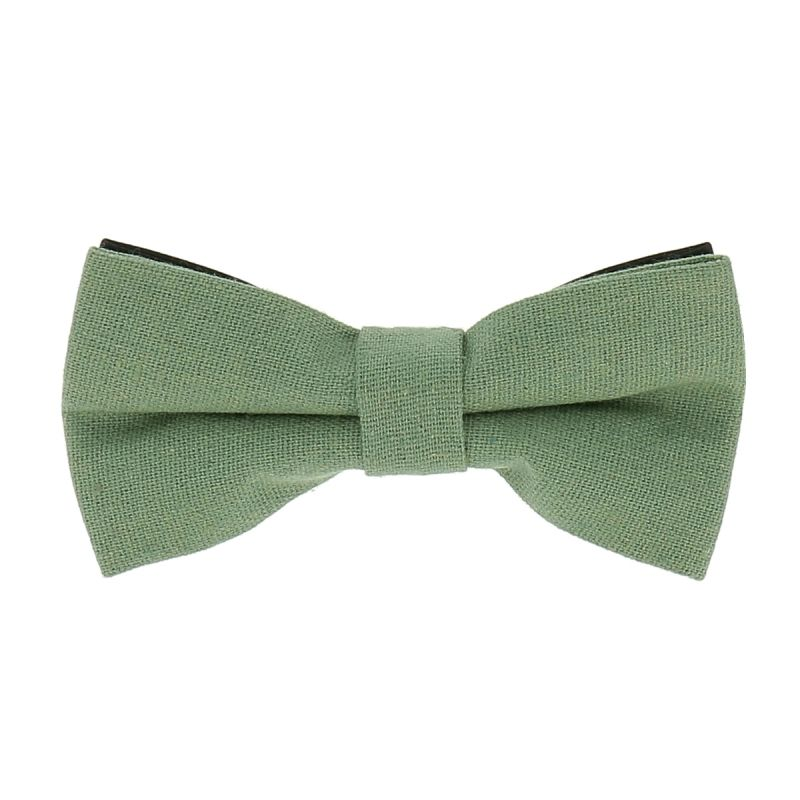 Noeud Papillon Coton Vert